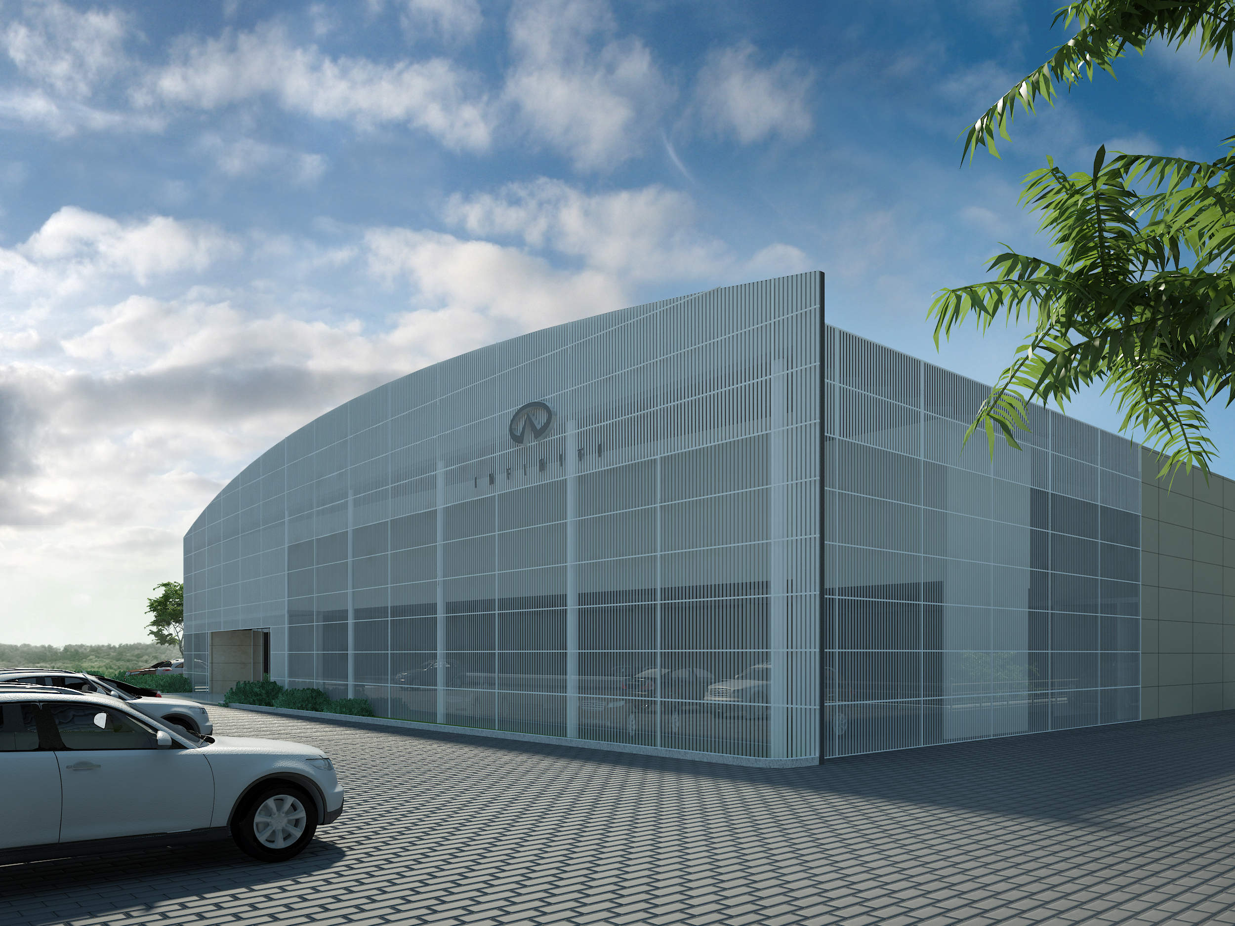 index building projects pictures infinity sofia dealers infiniti render center of